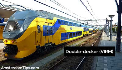 double decker virm trains netherlands