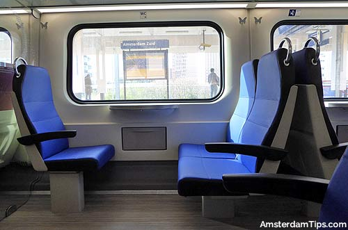 dutch rail seat 2nd class