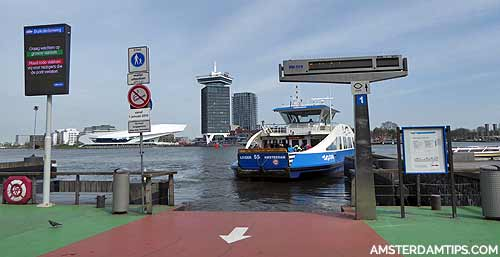 gvb amsterdam ferry