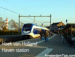 hoek van holland train station