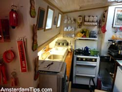 houseboat museum galley
