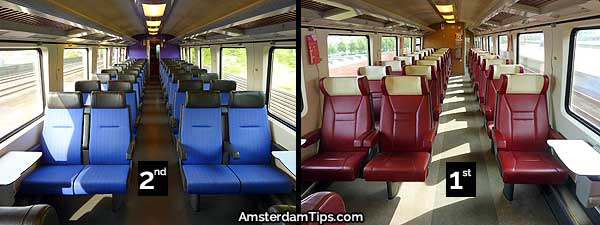 seats intercity direct train netherlands