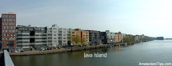 Amsterdam Walk From Central Station To Java Knsm Eiland