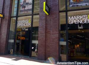 marks and spencer amsterdam