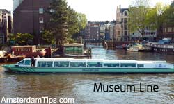 museum line boat amsterdam
