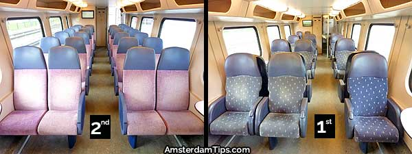 seats double-decker intercity trains netherlands