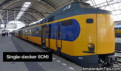 single decker icm trains netherlands
