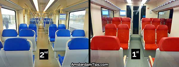 seats ns sprinter trains netherlands