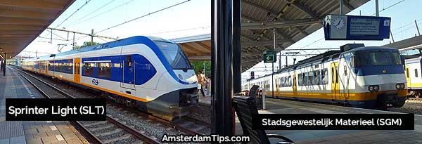 ns sprinter trains netherlands
