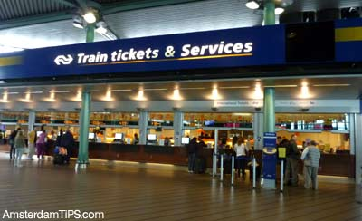 Ns Tickets Desk Schiphol