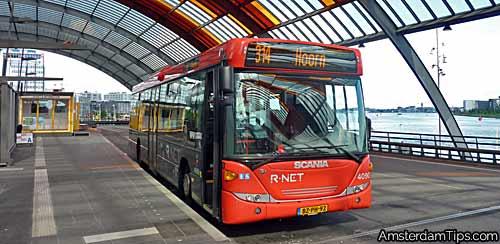 ebs rnet bus amsterdam
