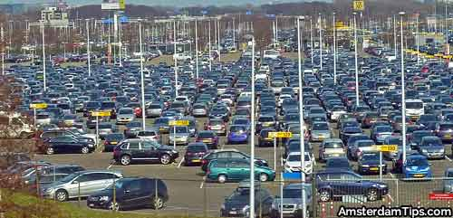 schiphol airport parking