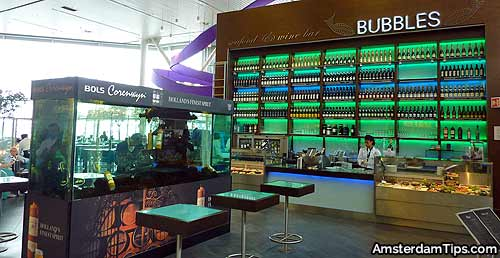 bubbles seafood and wine bar schiphol airport