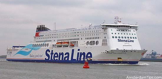 stena hollandica ferry hoek van holland to harwich