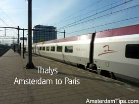 thalys train amsterdam to paris