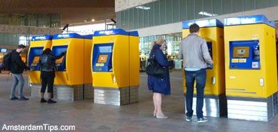 ns rail ticket machine
