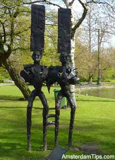 westerpark sculptures amsterdam