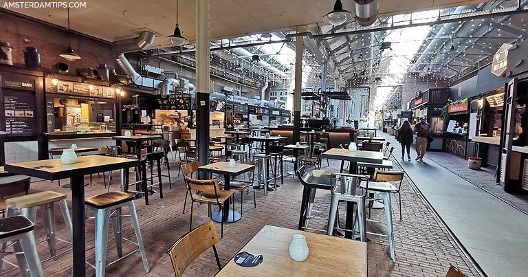 map foodhallen amsterdam