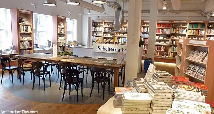 scheltema bookstore amsterdam