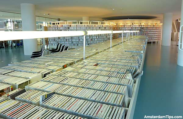 amsterdam oba library music section