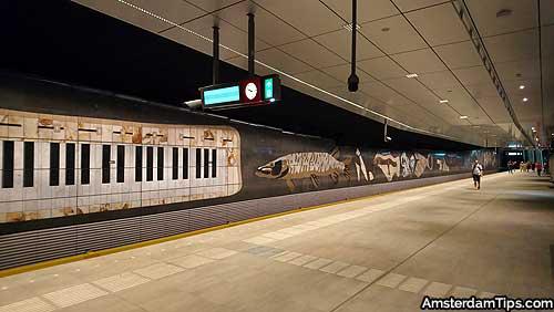 rokin station amsterdam