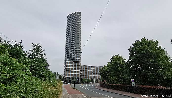 amstel tower in amsterdam
