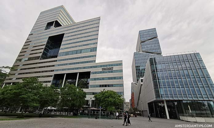 ito toren and vinoly building amsterdam