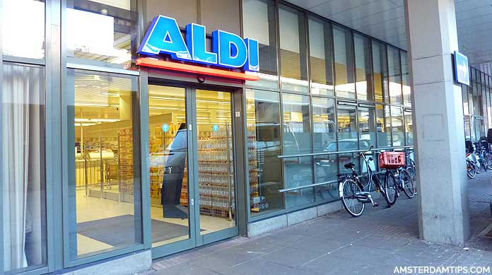 Supermarkets in Amsterdam - Albert Heijn, Dirk, Aldi, Lidl