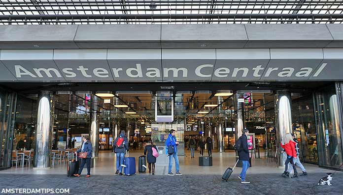 amsterdam central station ij-side