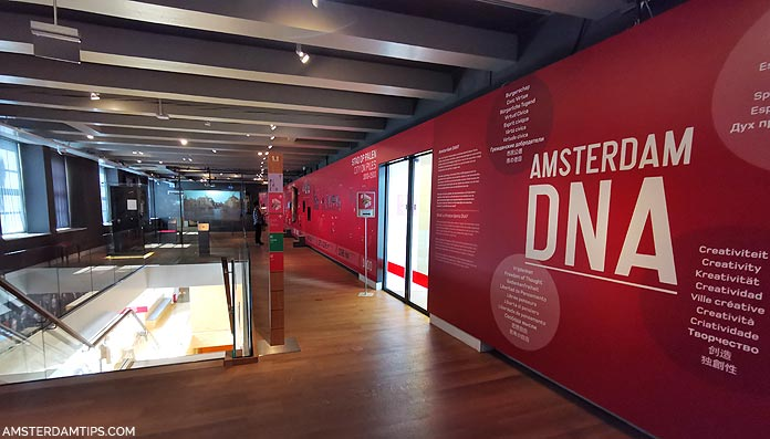 amsterdam museum - amsterdam dna exhibition