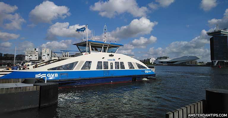 amsterdam gvb ferry