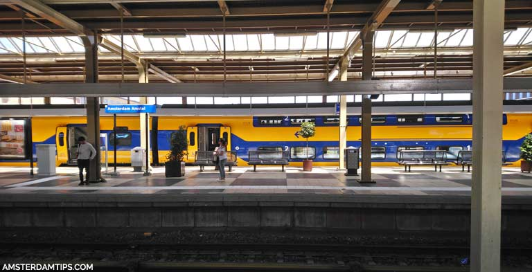 Train Stations In Amsterdam Centraal Station Amstel Zuid Sloterdijk Etc