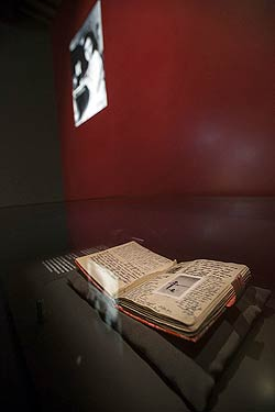 anne frank diary room
