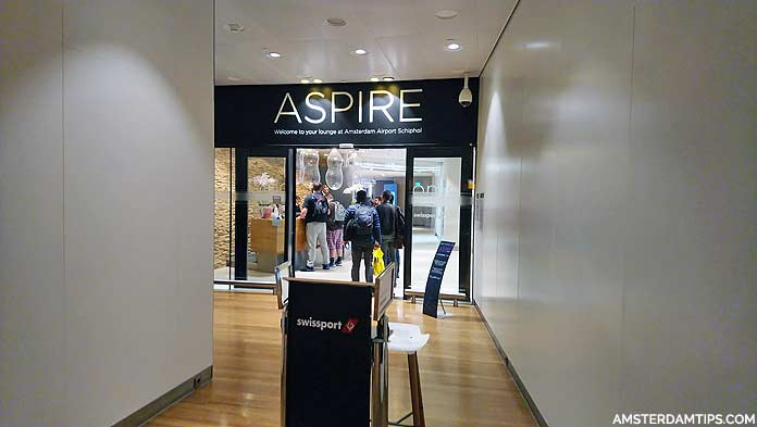 aspire lounge 41 amsterdam schiphol airport