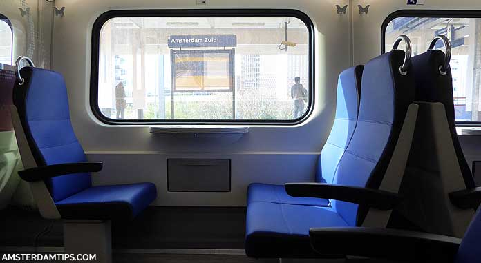 dutch train seats
