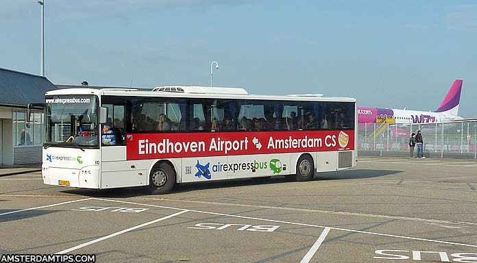 Garage Plus Eindhoven : Eindhoven airport to amsterdam central by coach or train