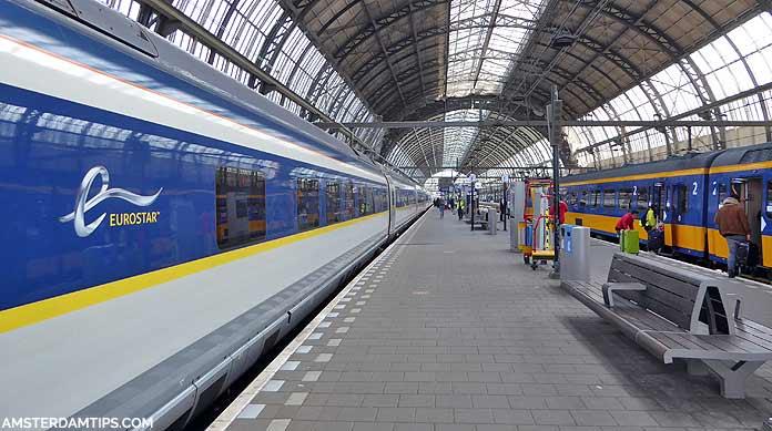 eurostar train amsterdam