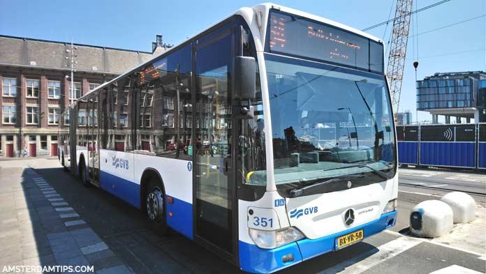 gvb bus amsterdam