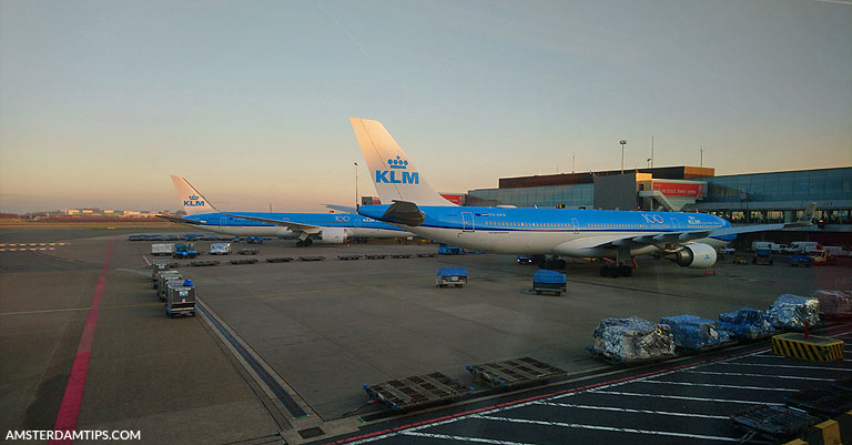 klm boeing 737 aircraft