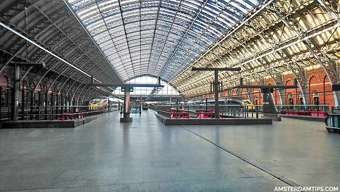 london st pancras station