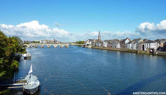 maas river in maastricht