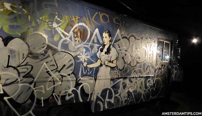 banksy exhibit moco museum amsterdam