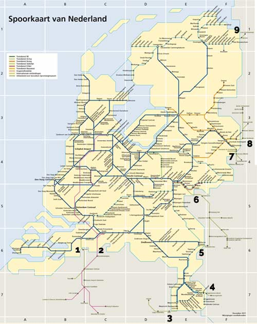 international rail borders netherlands