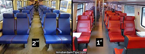 ns intercity train seats