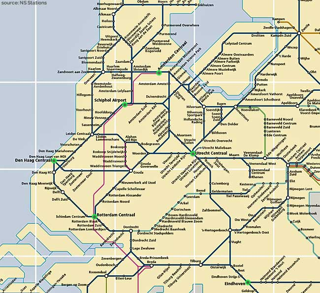 Dutch Railways Guide | Rail Network Netherlands NS Trains Travel