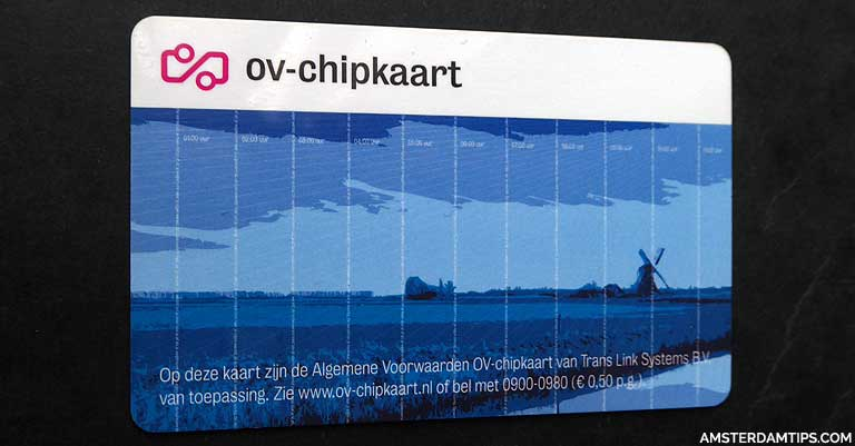 Ov Chip Card Public Transport In Amsterdam And Netherlands