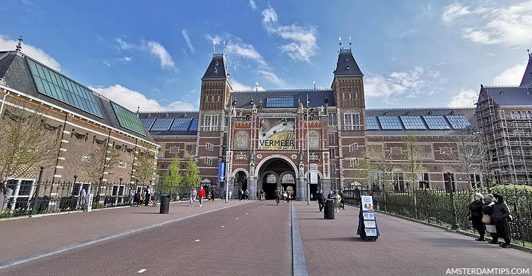 Rijksmuseum Amsterdam Netherlands - Dutch Art and History Museum