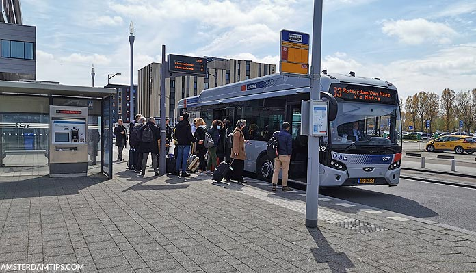 rotterdam bus 33 ret