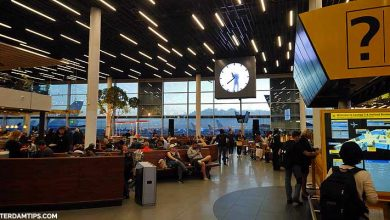amsterdam schiphol airport layover