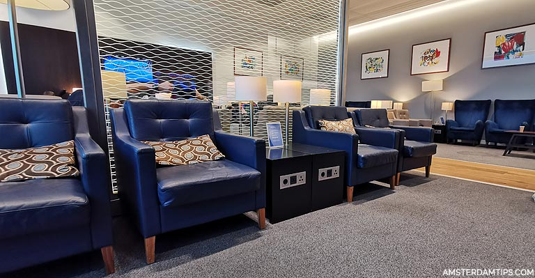 Airline Lounges at Amsterdam Schiphol Airport
